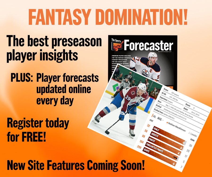 Join Sports Forecaster Pro!